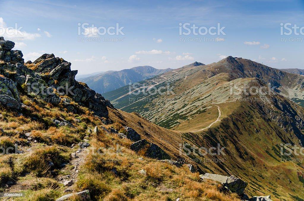 Low Tatras stock photo