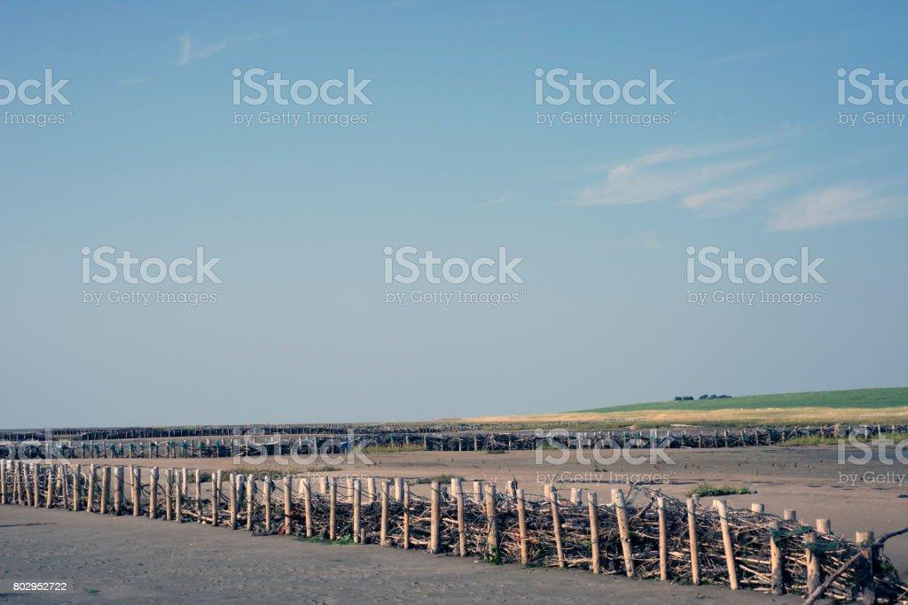 Low Tide at Mando stock photo
