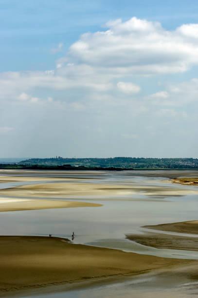 Marée basse dans la baie du Mont Saint Michel - Photo
