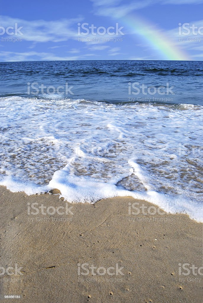 Bassa marea foto stock royalty-free