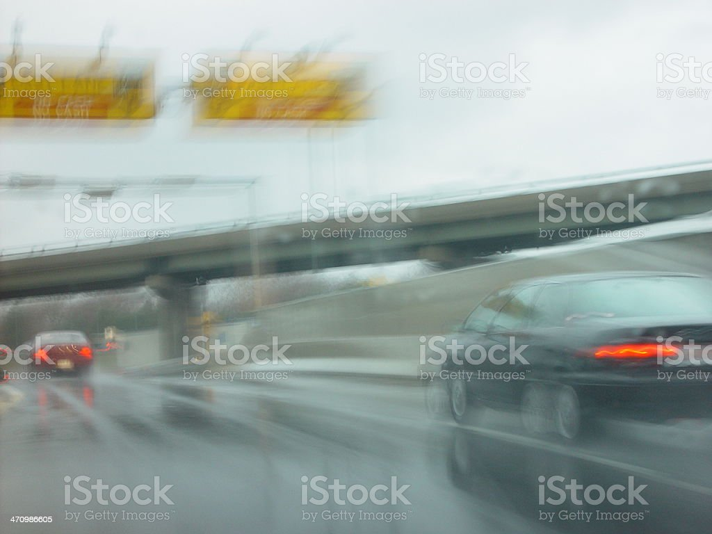 Low Visibility royalty-free stock photo