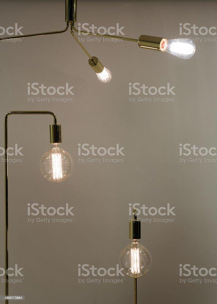Low Watt Tunsgten Bulb stock photo