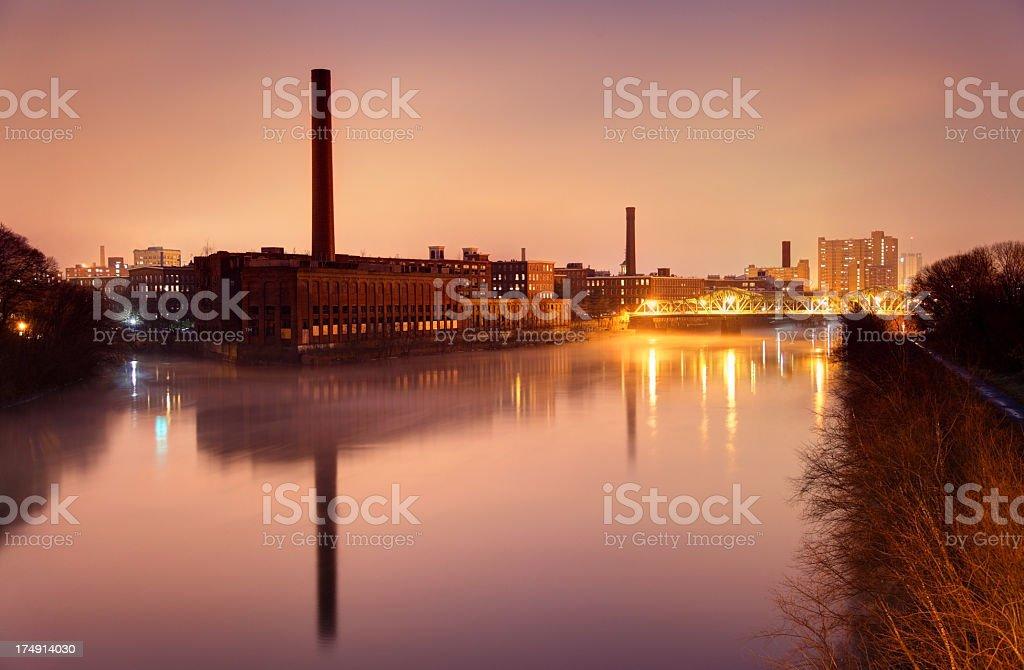 Lowell Massachusetts stock photo