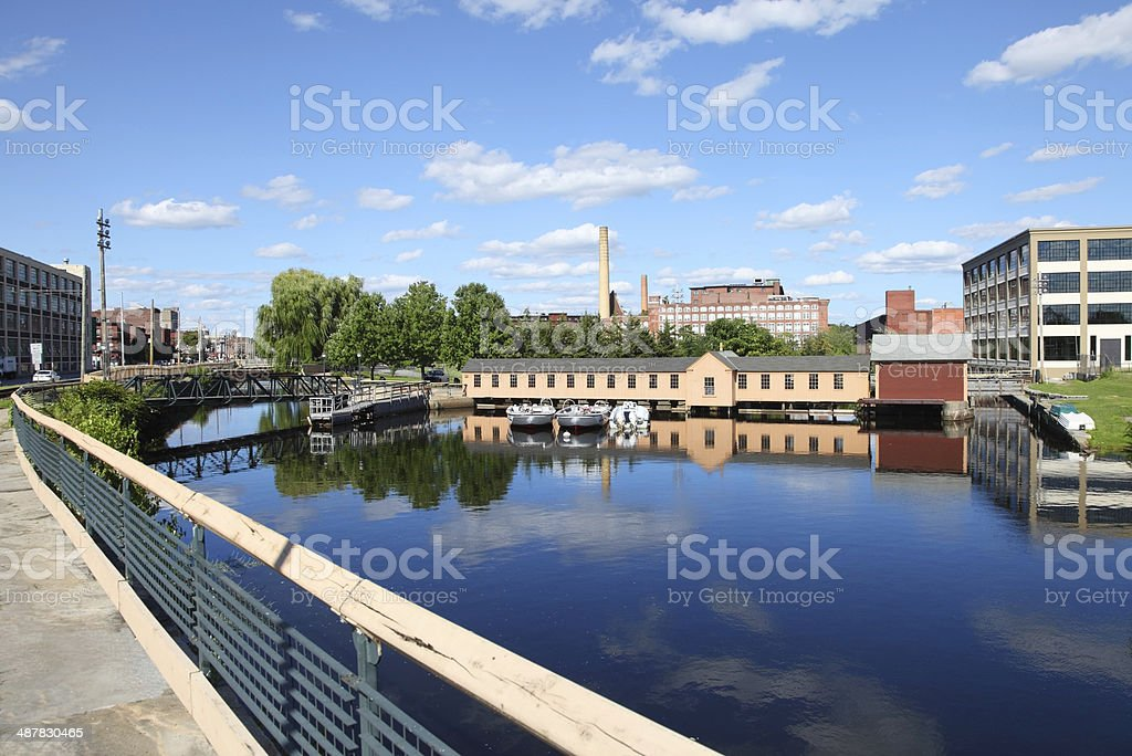 Lowell, Massachusetts stock photo