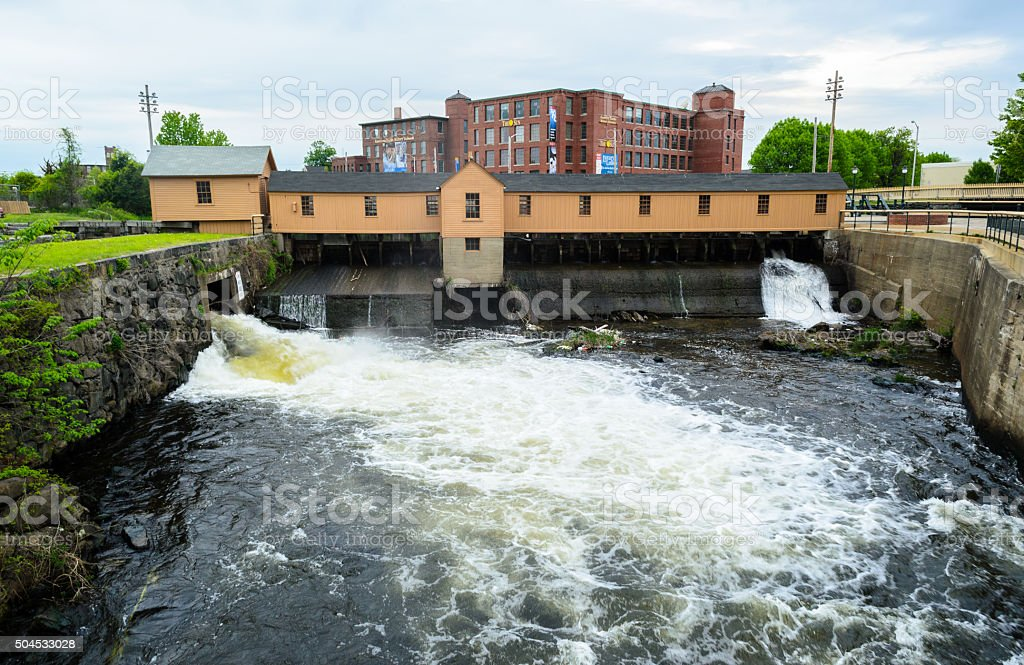 Lowell National Historical Park stock photo
