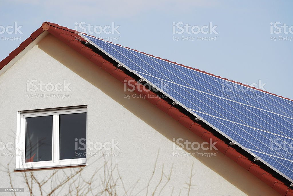 Low-Energy House royalty-free stock photo