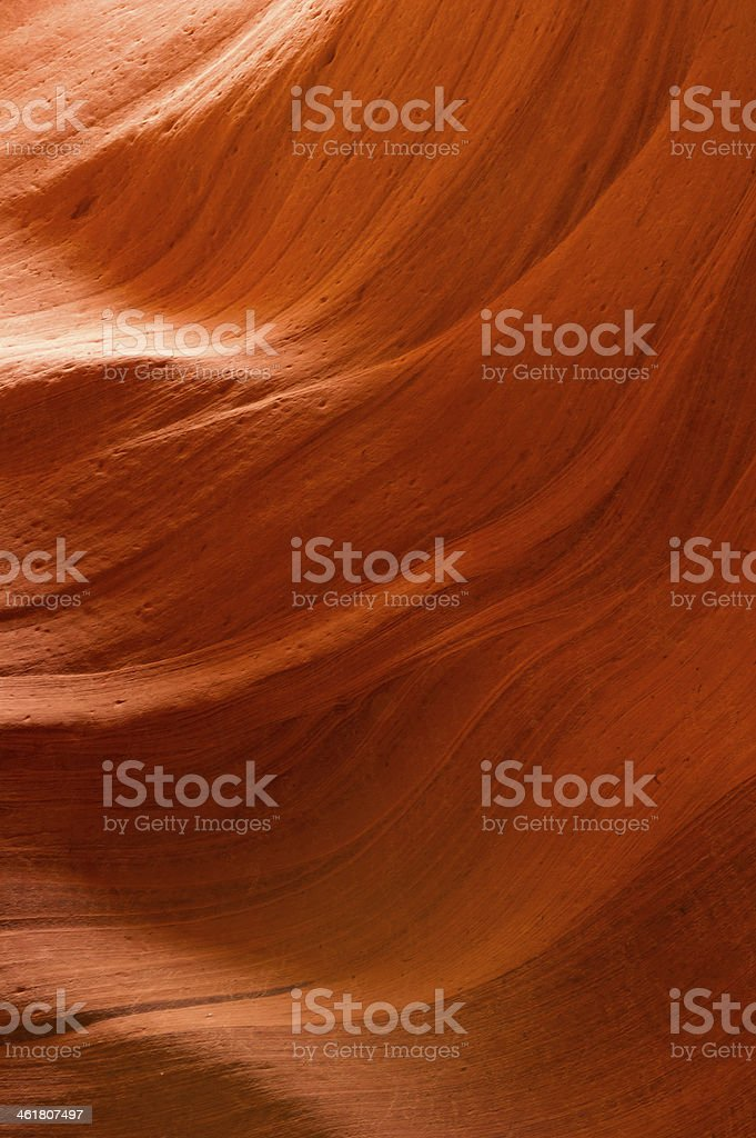 Lower Antelope Canyon Detail stock photo