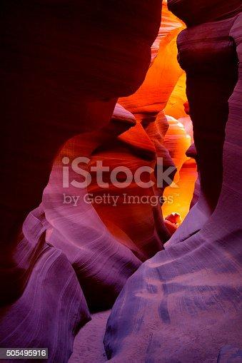 istock Lower Antelope Canyon in Arizona, USA 505495916