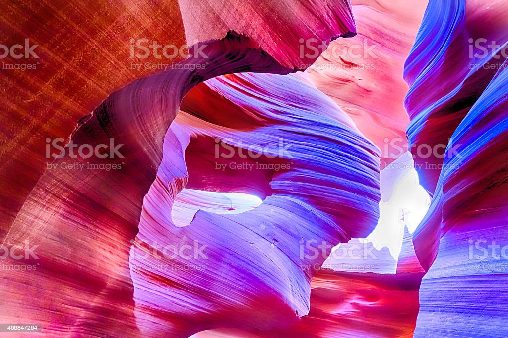 Lower  Antelope Canyon stock photo