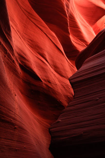 lower antelope canyon - lower antelope canyon stock photos and pictures