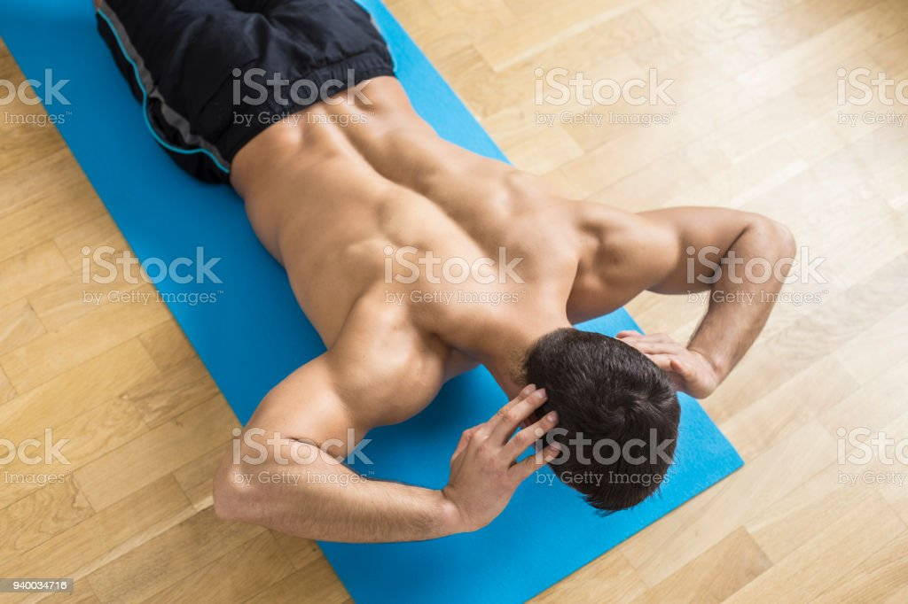 Lower Back Exercise Stock Photo More Pictures Of 20 24 Years