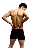 istock Lower back pain 157180238
