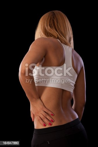 istock Lower back pain 164947880