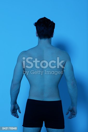 istock Lower back pain 543176948