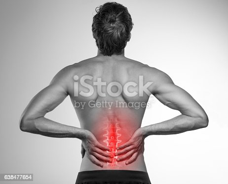 975681354 istock photo Lower back pain 638477654