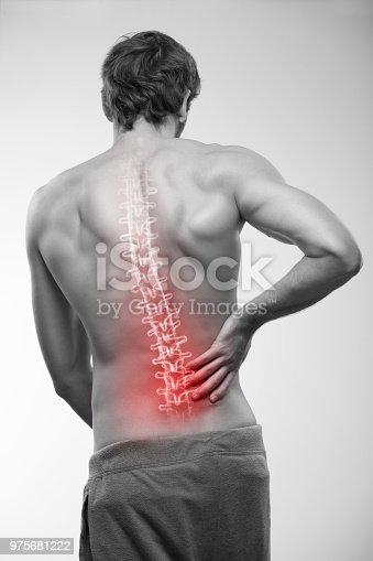 975681354 istock photo Lower back pain. 975681222