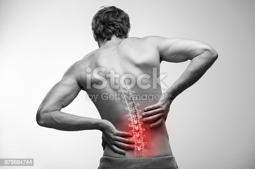 975681354 istock photo Lower back pain. 975684744