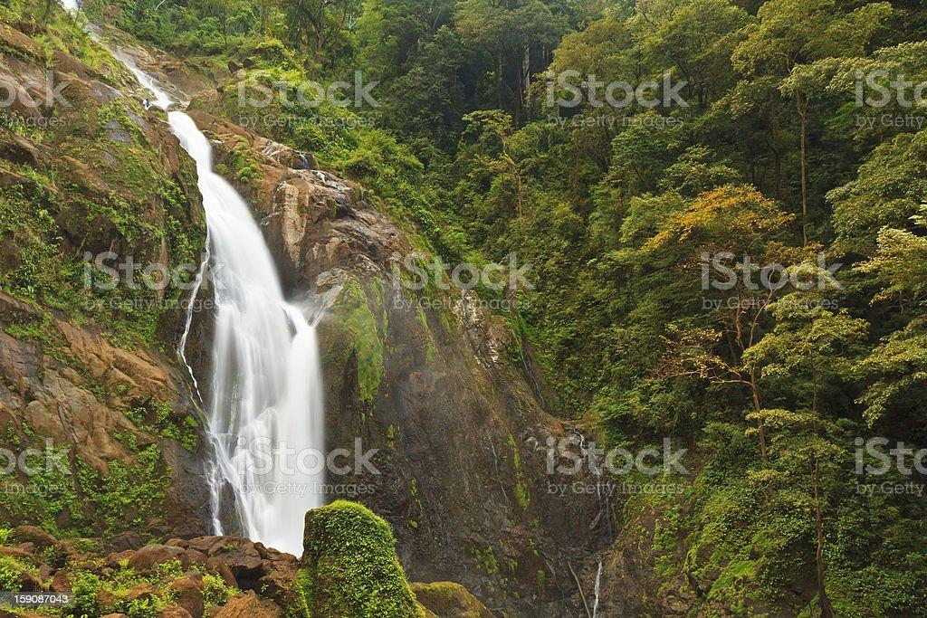 Lower Catarata Manantial de Agua Viva stock photo