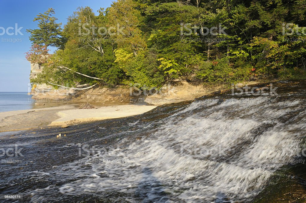 Lower Chapel Falls royalty-free stock photo