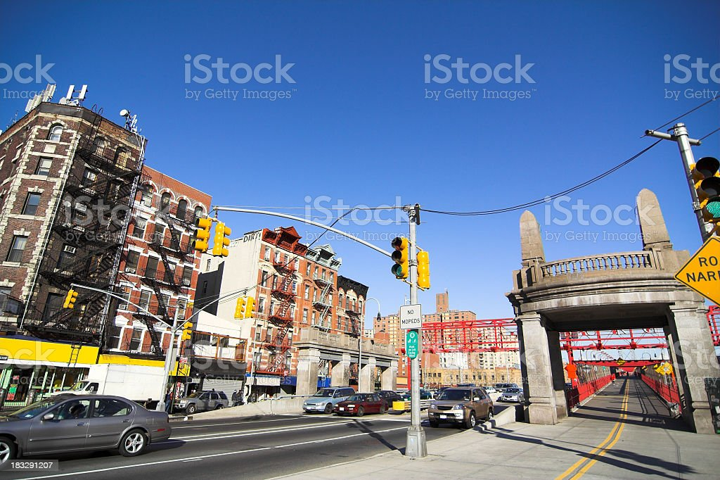 Lower East Side NYC stock photo