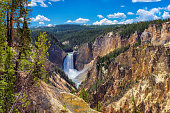 Lower Falls, Grand Canyon of the Yellowstone National Park