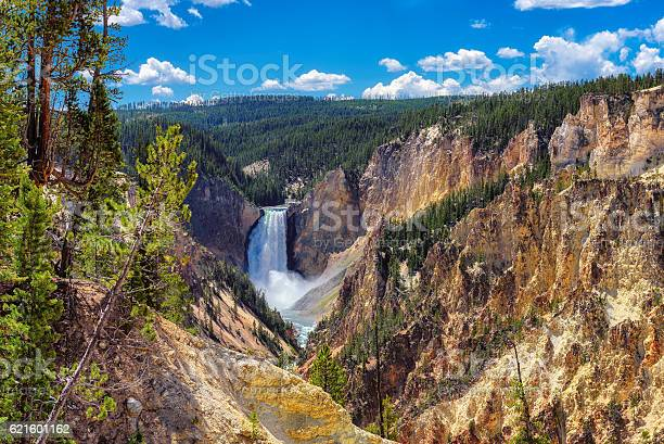 Photo of Lower Falls, Grand Canyon of the Yellowstone