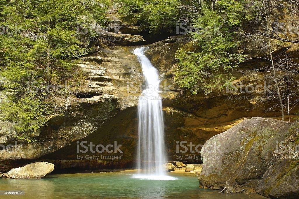 Lower Falls stock photo
