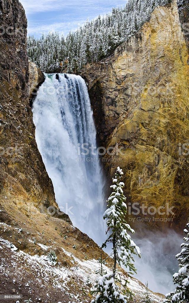 Lower Falls royalty-free stock photo