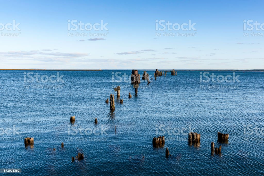 Lower Harbor Ore Dock stock photo