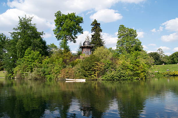 Lower lake en Bois de Boulogne - Photo