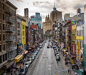 istock Lower Manhattan cityscape - Chinatown 1077561586