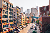 istock Lower Manhattan cityscape - Chinatown 1168983562
