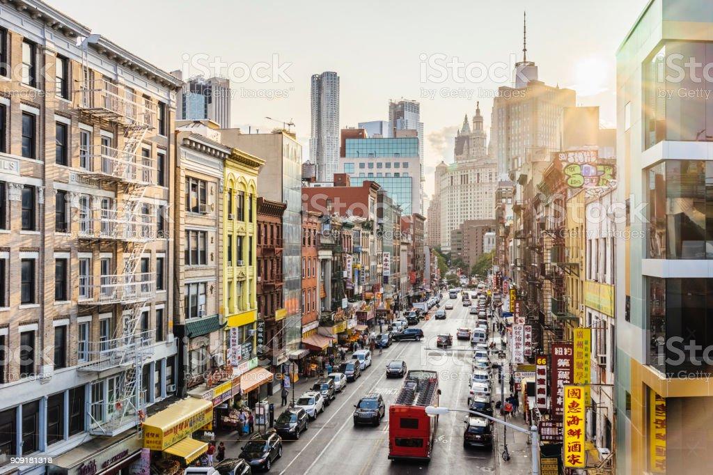 Lower Manhattan Stadtbild - Chinatown – Foto