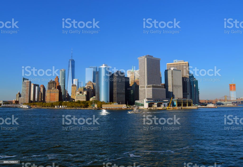 Lower Manhattan New York City stock photo