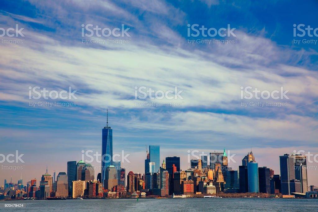 Lower Manhattan, New York stock photo