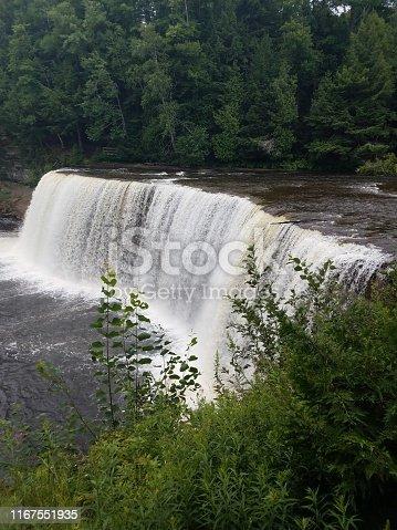 The Lower Tahquamenon Falls in Michigan's Upper Peninsula