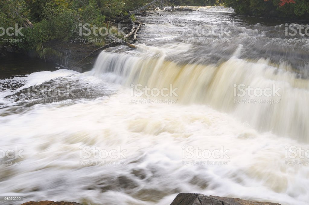 Lower Tahquamenon Falls royalty-free stock photo