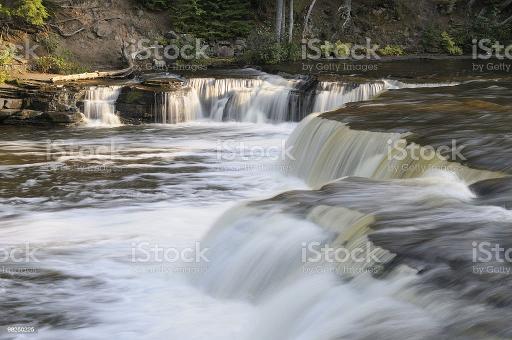 Cascate Lower Tahquamenon foto stock royalty-free