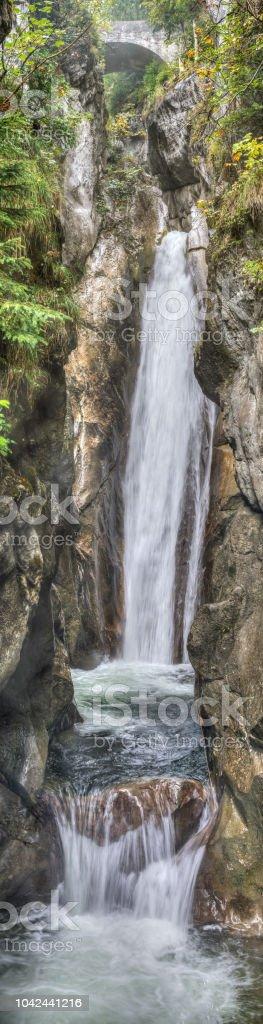 Lower waterfall at Tatzelwurm - Royalty-free Bavaria Stock Photo