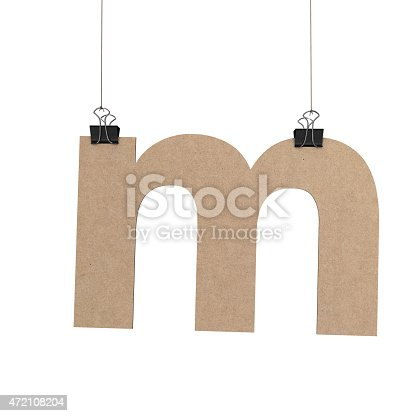 844515966 istock photo Lowercase letter m hanging on string 472108204