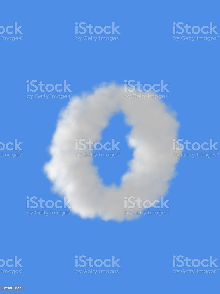 Lowercase letters a-z stock photo