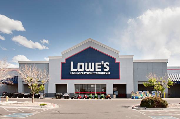 Lowe's Home Improvement Store stock photo