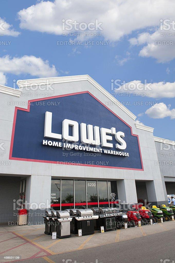 Lowe's Home Improvement Warehouse royalty-free stock photo