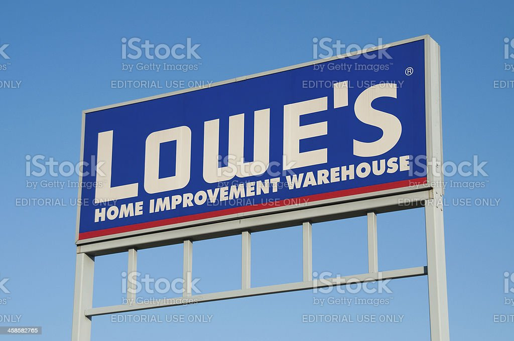Lowes Store Sign Stock Photo More Pictures Of Alabama Us State
