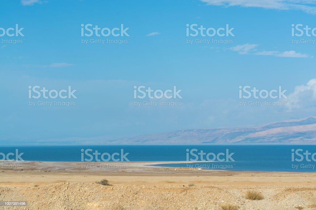 Lowest Salty Lake In World Below Sea Level Dead Sea Full Of