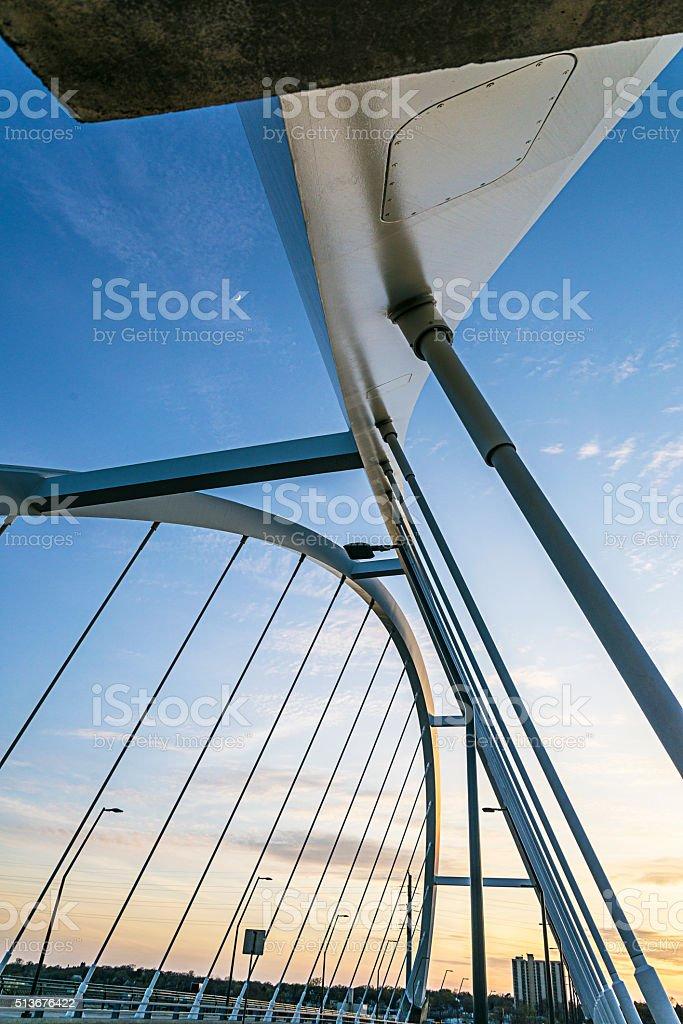 Lowry Bridge, Minneapolis. stock photo