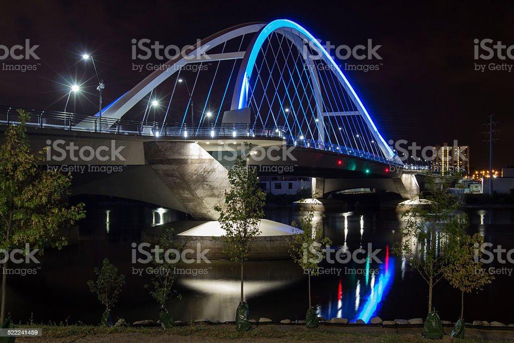 Lowry Bridge stock photo