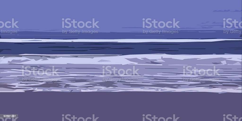 Lowtide royalty-free stock photo