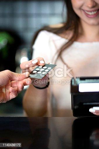 istock Loyalty coffee card 1140436172