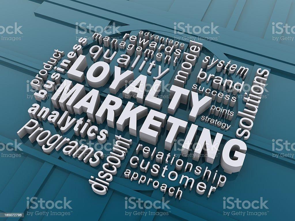 loyalty marketing royalty-free stock photo